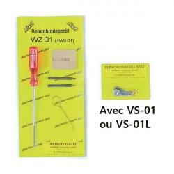 Pack jeu d'outils (WS01) + pièces d'usure (VS-01 ou VS-01L) pour pince Beli