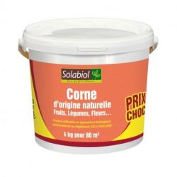 Corne d'origine naturelle fruits, légumes, fleurs Solabiol - 4 kg