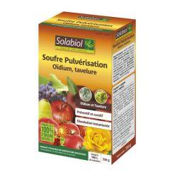Soufre pulvérisation (oïdium, tavelure) Solabiol - 750 gr.