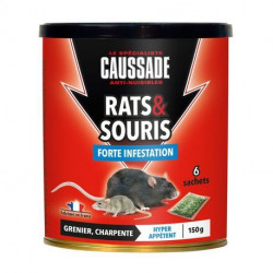 Rats & souris - céréales forte infestation Caussade