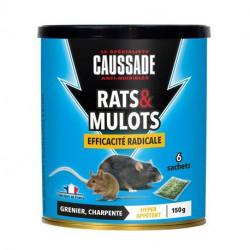 Rats & mulots - céréales efficacité radicale Caussade