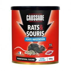Souris & rats - pat'appât forte infestation Caussade