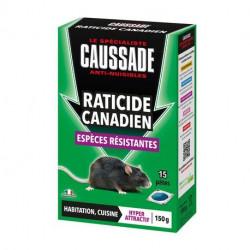 Raticide canadien - pat'appât espèces résistantes Caussade