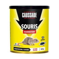 Souris - pat'appât foudroyant Caussade