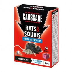 Rats & souris - blocs forte infestation Caussade