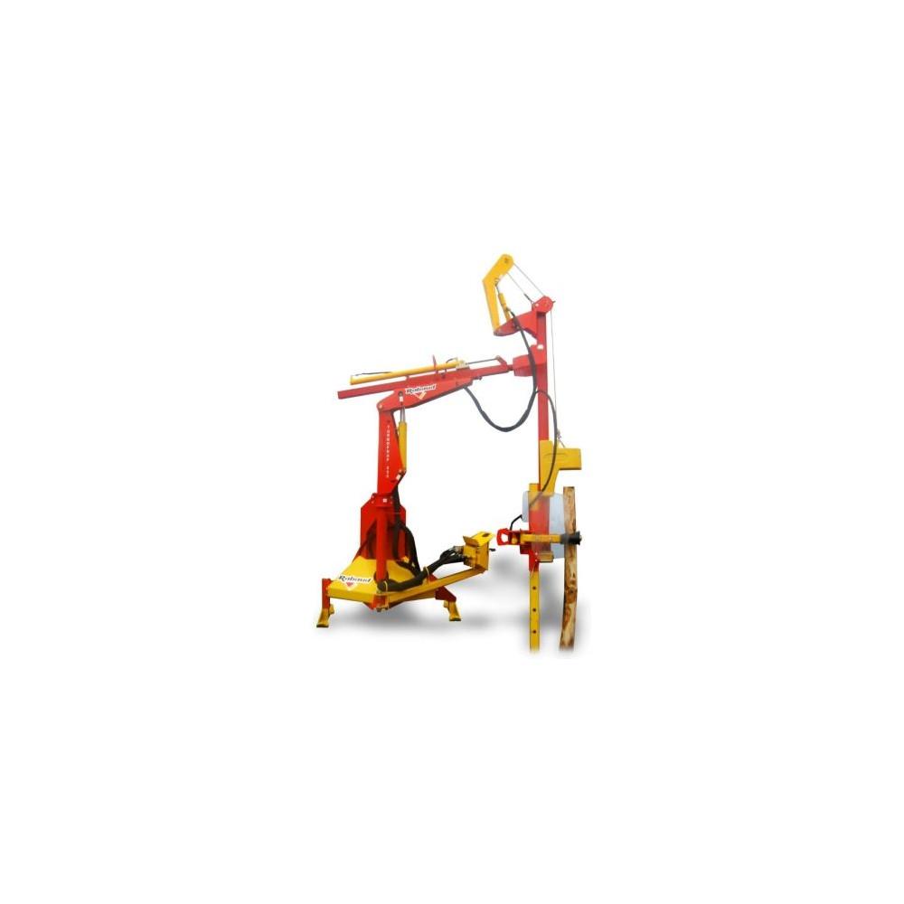 Enfonce pieux Turbofrap 200 Rabaud - pendulaire rotatif