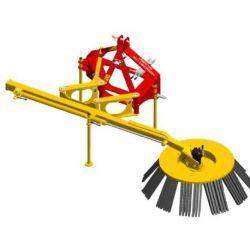 Brosse de désherbage mécanique Herbionet 1100 Viti/Arbo Rabaud