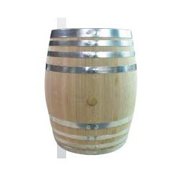 """Fût de Chêne Merrain Type """"Bourgogne Export"""" 225 Litres"""