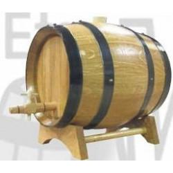 Fût de Chataignier 5 à 225 Litres pour Alcool ou Vin Fabriqué en France