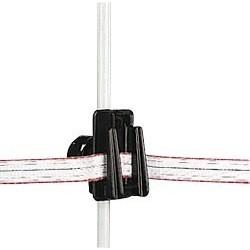 Isolateur réglable pour piquets ronds/ovales sachet de 10