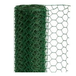 Grillage Triple Torsion Plastifié Vert Eco Rouleau de 10m