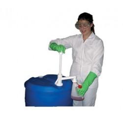 Pompe chimique à piston et accessoire