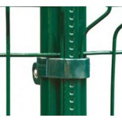 Colliers de pose vert pour poteaux et jambes de force QuickFix