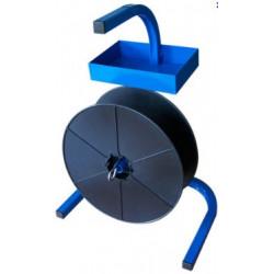 Dévidoir porte-bobine pour feuillard Polypropylène, Textile, PET ou métallique