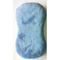 Eponge de lavage Bi-Face Microfibre et Filet