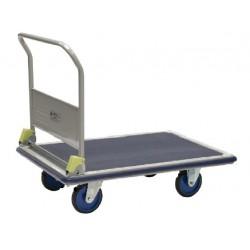 Chariot à dossier rabattable 500 kg avec frein
