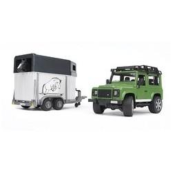 Land Rover avec Van et Cheval Bruder