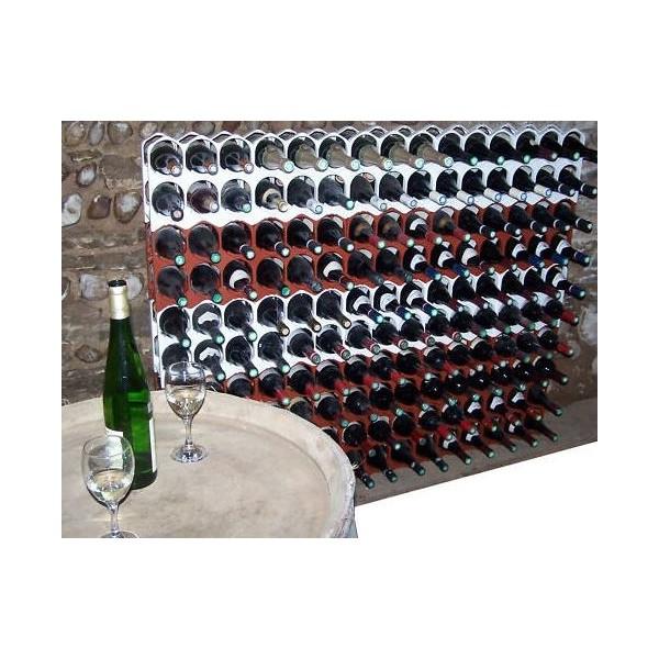 casier bouteilles noir empillable et design am nagement cave vin espace vente vin. Black Bedroom Furniture Sets. Home Design Ideas