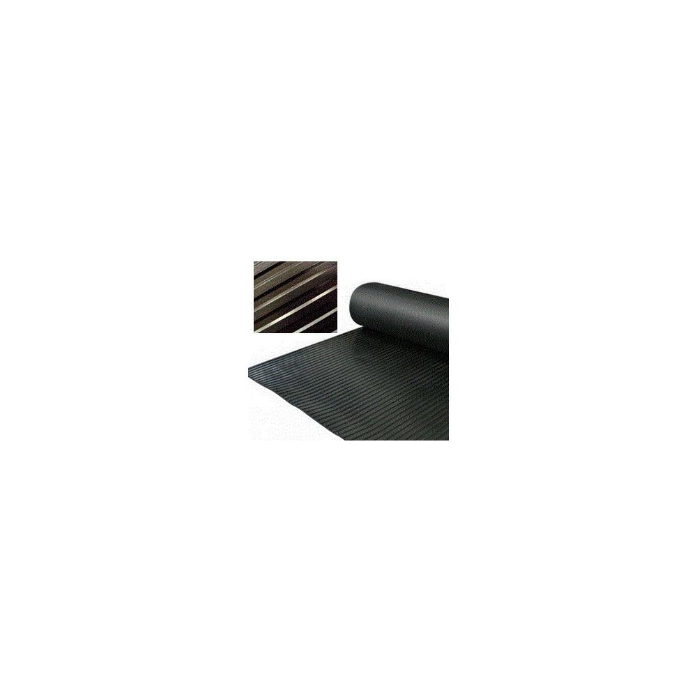 rev tement caoutchouc larges cannelures en rouleau de 10m. Black Bedroom Furniture Sets. Home Design Ideas