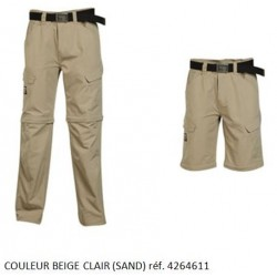 Pantalon Beige Clair Timberland Pro 611 Multi-Poche 2 en 1 transformable en Short