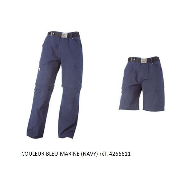 Pantalon bleu marine timberland pro 611 multi poche 2 en 1 - Pantalon timberland pro ...