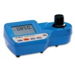 Photomètre HI96104 multiparamètres spécial piscine : acide cyanurique, pH et chlore