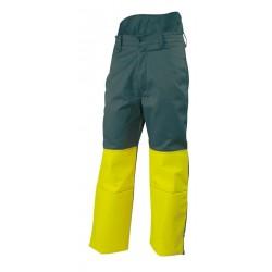 Pantalon de Débroussaillage LURE Vert/Jaune