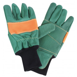 Gants de Protection Forestier Type Poignet SUPERB en Cuir