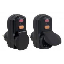 Kit RKD1 de 2 adaptateurs différentiels amovibles SDMO pour prises domestiques