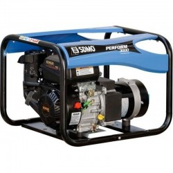 SDMO PERFORM 3000 GAZ Groupe électrogène portable essence ou gaz