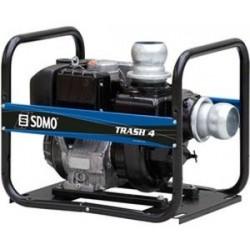Motopompe DIESEL SDMO TRASH 4 débit:108m3/h