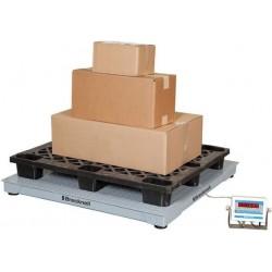 Plateforme de Pesage Ultra-Résistante jusqu'à 2500 kg avec écran numérique déporté