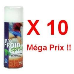 Pack de 10 Bombes de Froid 400 ml pour Sportifs