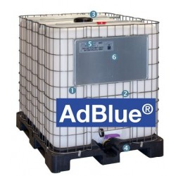 cuve de stockage 1000 litres adblue type container ibc. Black Bedroom Furniture Sets. Home Design Ideas