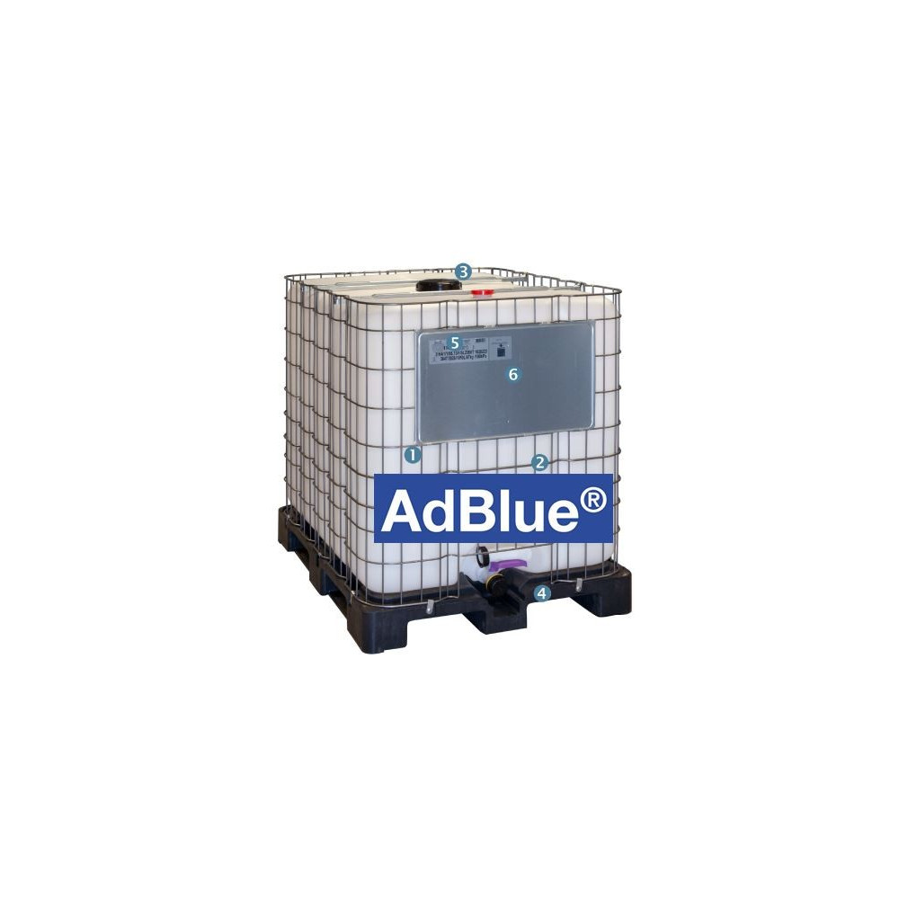 cuve de stockage 1000 litres pour adblue type container ibc. Black Bedroom Furniture Sets. Home Design Ideas