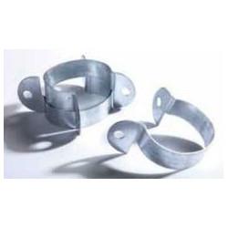 Collier acier pour poteau Quickfix Galvanisé Sachet de 4
