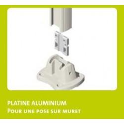Accessoires de Pose pour Piquets EasyClip GRIS Foncé 7016 : Platines et Clips