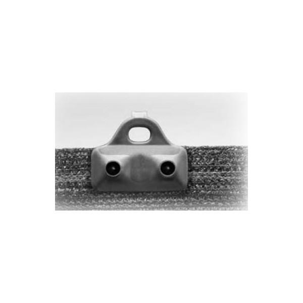 clips noir 2 points anti uv sp cial brise vue et filets sachet de 100. Black Bedroom Furniture Sets. Home Design Ideas