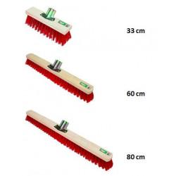 Balais de Cantonnier Exérieur en fibres synthétiques - Manche 150cm