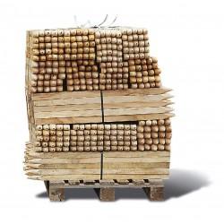 Piquet de chantier en bois longueur 1,00 m section 30mm x 30mm
