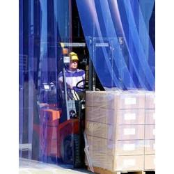Lanière PVC Transparente Largeur 30 cm pour Porte Souple