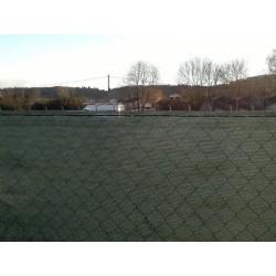 Brise Vue Vert 220gr/m² LONODIS PRO V2, Anti-UV - Rouleau de 50 m