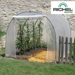 Serre de jardin professionnelle 6m² - 2mx3m - 1 porte