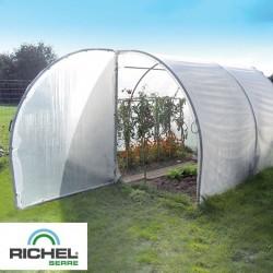 Serre de jardin professionnelle 18m² - 3mx6m - 2 portes
