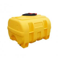 Cuve coffre jaune polyéthylène