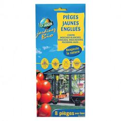 Pièges jaunes englués - boite 8 pièges