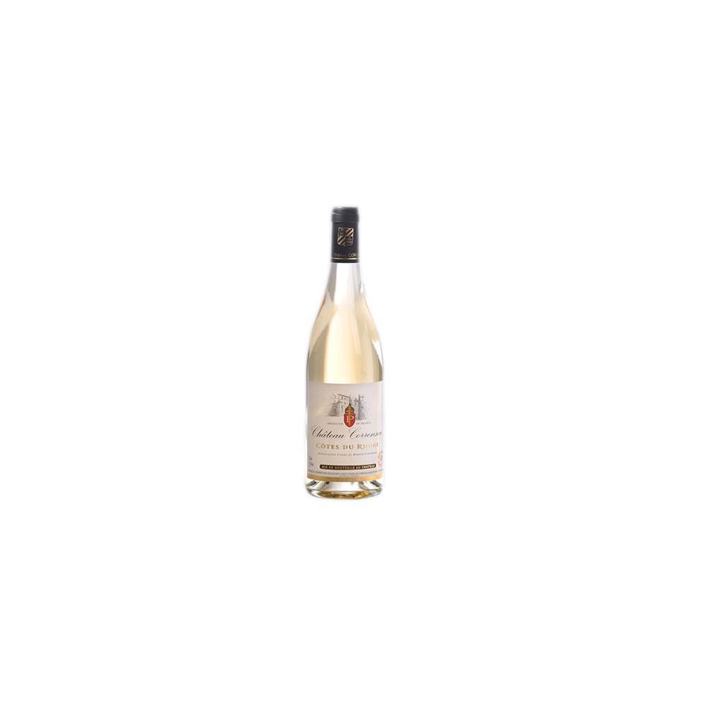 Côtes du Rhône Blanc 2016, Château Correnson AOC. Accompagne parfaitement vos poissons, fruits de mer, fromages ou en apéritif