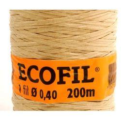 Lien armé papier ECOFIL 1x40 Bobine de 200m