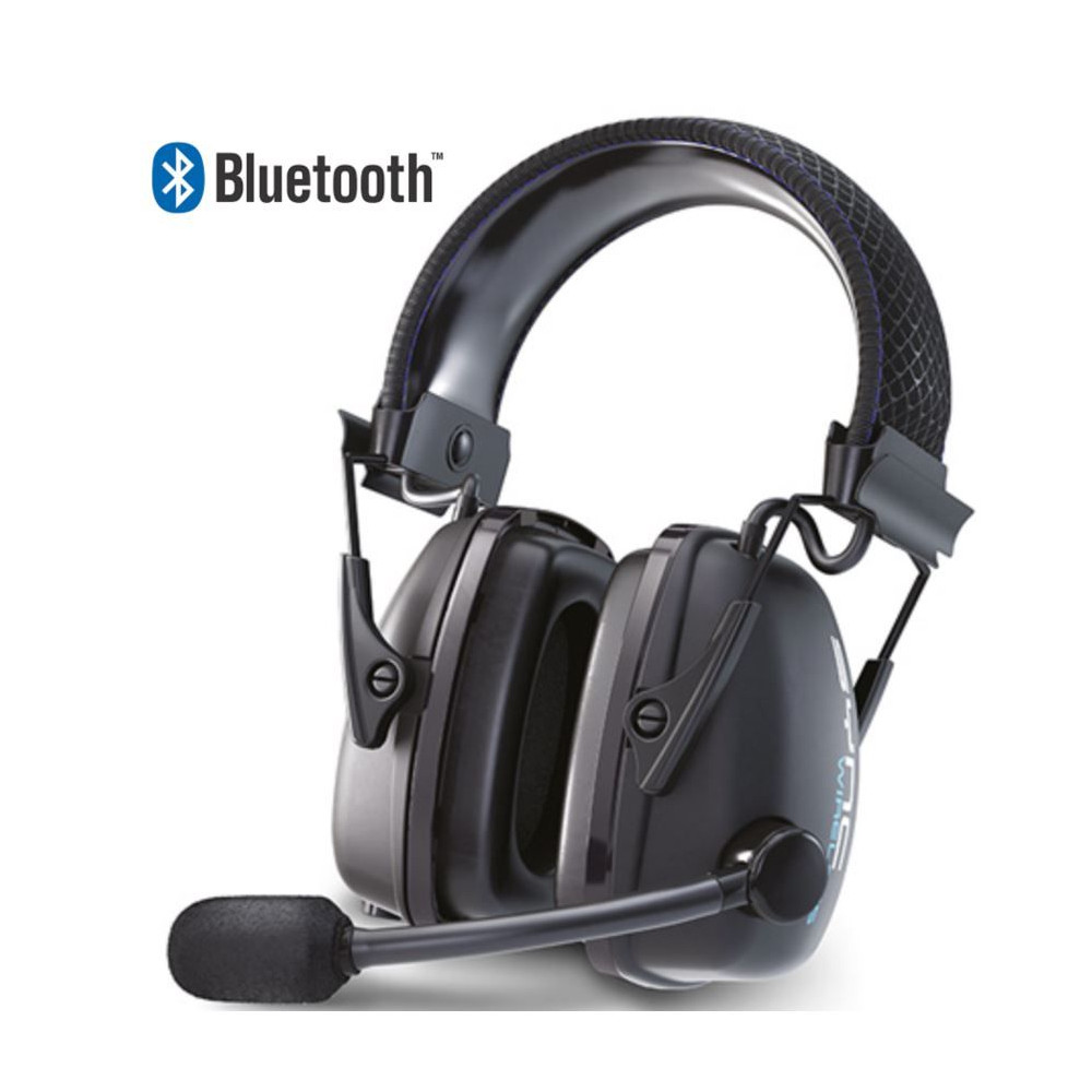 Casque Anti Bruit Audio Bluetooth Sans Fil Snr32