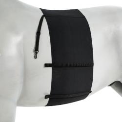 Sangle élastique sous-ventrière pour cheval